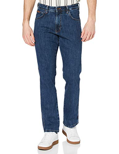 Wrangler Arizona, Jeans Straight Uomo, Blu (Rolling Rock), W44/L34