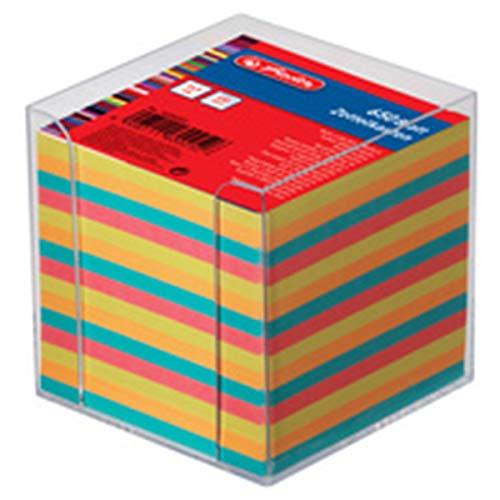 Herlitz 1604008 Zettelkastenersatzeinlage 9 x 9 cm, 550 Blatt, farbig sortiert
