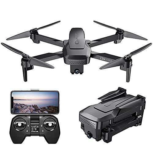 GZTYLQQ Drone con Telecamera Drone Posizionamento del Flusso Ottico Quadricottero RC con Telecamera HD 4K, modalità Senza Testa di Mantenimento dell'altitudine, Droni FPV Pieghevoli WiFi Live Video