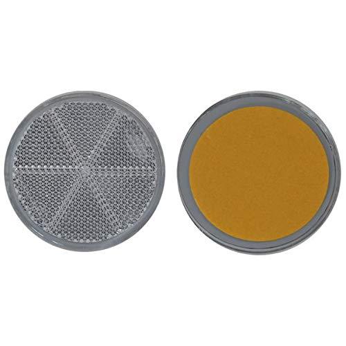FKAnhängerteile 4 x arrière Spot – Réflecteur – à coller – Ø 60 mm – BLANC – E de marque de contrôle
