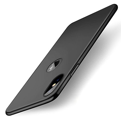Miuphro iPhone X Case iPhone 10 Case NonSlip Slim Full Protection Shockproof Cover Case Hard Shell for iPhone X Easy to Insert and Remove 045mm