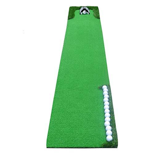 RUINAIER Esterilla de Golf portátil en para Entrenamiento Mats Golf Golf Golf Matting Portable Golf Putter Mat Home Office Outdoor Golf Putter Green Entrenamiento Ayudas PRÁCTICA Mat 0.5 * 3M