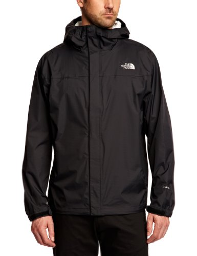 The North Face Men's Venture Jacket, TNF Black/TNF Black, Medium