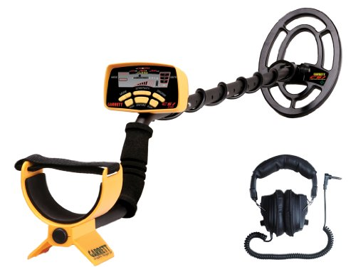 Garrett CSI 250 Ground Search Metal Detector with Carry Bag and Headphones, 6.5 kHz Operating...