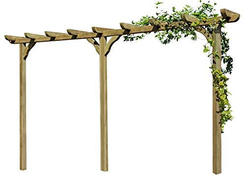 Gartenpirat -   Pergola aus Holz