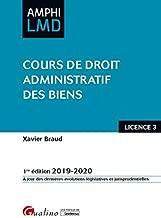 Cours de droit administratif des biens Licence 3