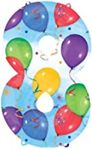 رقاقة anagram بالون 2825901رقم 8للصيد ، 86.4cm ، متعدد الألوان
