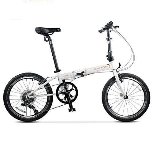 New Folding Bikes Bicycle Folding Bicycle Unisex 20 Inch Wheel Bicycle Portable Variable Speed Bicyc...