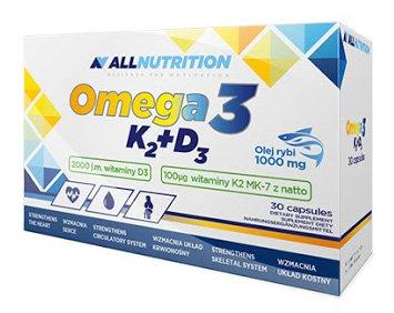 Preisvergleich Produktbild ALLNUTRITION Vit Omega3+D3+K2 Vitamine Mineralien Nahrungsergänzungsmittel Bodybuilding (30 Tabletten)