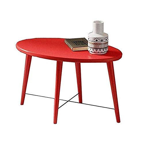 Foldable Portable Multifunction Coffee Table Thick Legs Are Stronger And Safer to Use Fashion Red