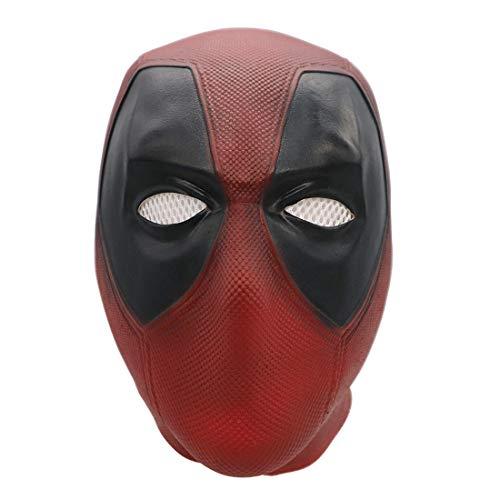 Bulex Deadpool Mask Replica Full Head Helmet Cosplay Costume for Adult