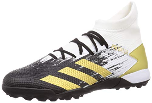 adidas Predator 20.3 TF, Zapatillas de fútbol Hombre, FTWBLA/Dormet/NEGBÁS, 46 EU