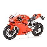 El Maquetas Coche Motocross Fantastico 1︰18 para Ducati Diavel Carbon 1199 Panigale 1098S 748848 Hypermotard Monster Supersport S Modelo De Motocicleta De Juguete Expresión De Amor (Color : 4)