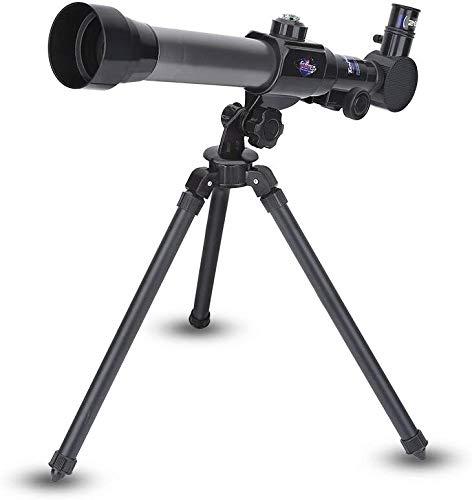 DKEE Binoculars Refractive Astronomische Fernrohr for Kinder Und Anfänger Spielzeug Der Kinder Monokulare Raumteleskope Mit Stativ Pädagogischen Geschenk