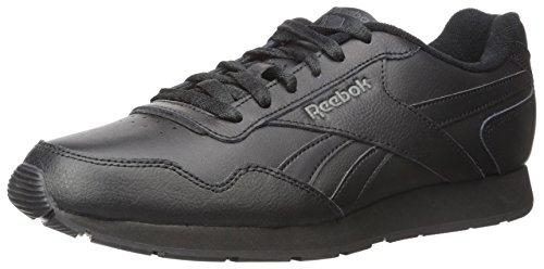 Reebok Royal Glide Fashion Tênis masculino, Preto/cinza claro/Reebok Royal, 8