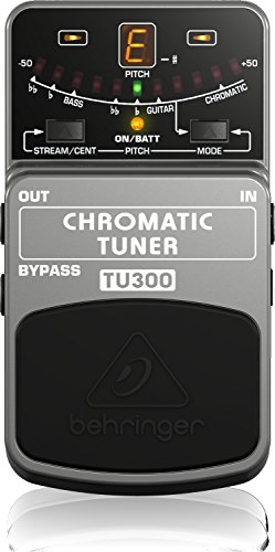 TU300 Behringer Grey Chromatic Tuner Stomp Box TU300