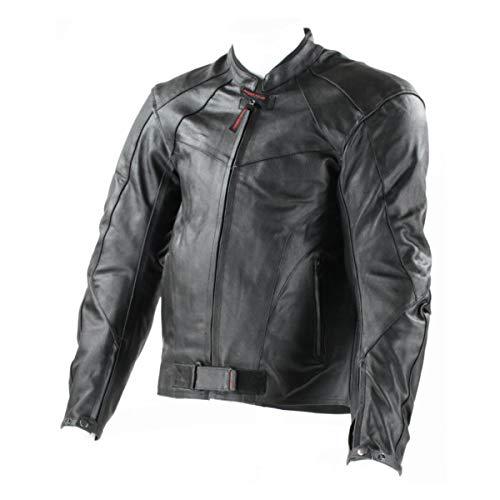 Rider tec veste moto cuir classic mixte 2xl/58-60