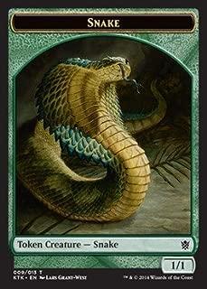 Magic: the Gathering - Snake (009/013) - Khans of Tarkir