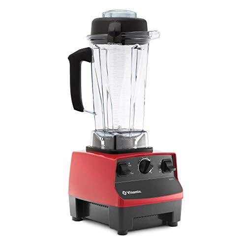 Vitamix 5200 Blender, Professional-Grade, Self-Cleaning 64 oz. Container, Red, DAA