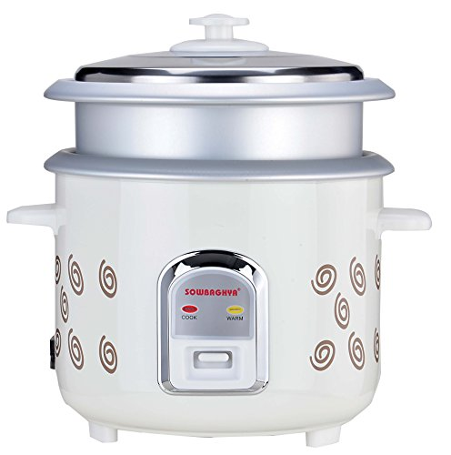 Sowbaghya Annam Electric Rice Cooker 1.8 LTR with Free Inner Pot