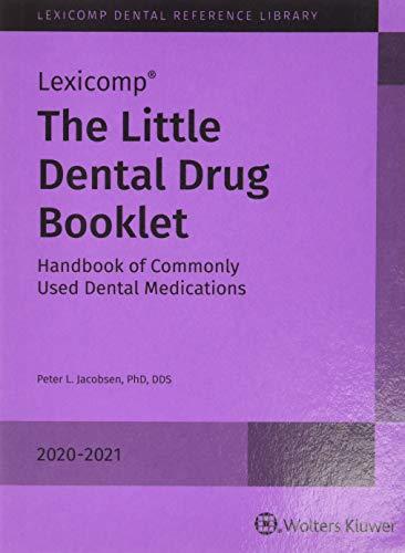 Little Dental Drug Booklet 2020-2021