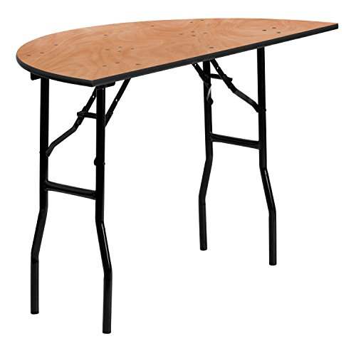 Flash Furniture Wood Fold Table, Black Now $60.11 (Was $199)
