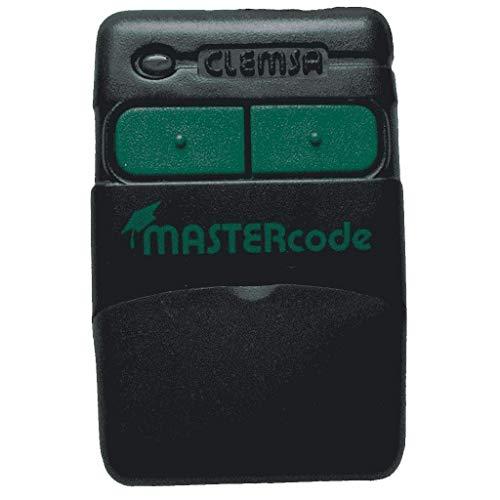 CLEMSA MASTERCODE MV12 Mando Garaje 433,92Mhz Código Fijo Pestañas Nuevo Modelo Capaz De Copiar Código De Instalador