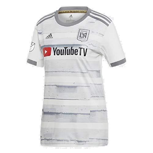 adidas 2019 LAFC Away Jersey Women, White, X-Large