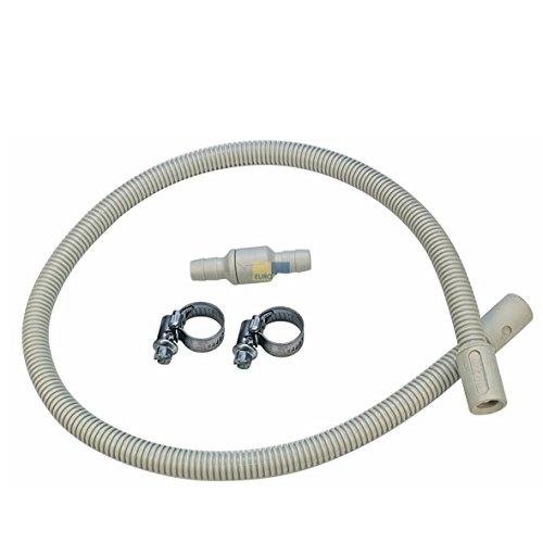 Miele 6729293 – Valve de rétention (pour sèche-linge à condensation et sèche-linge avec pompe de chaleur)