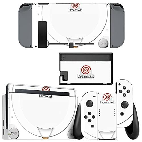 VINILOL Vinilo Dreamcast para Nintendo Switch pegatina cubierta skin para consola y...