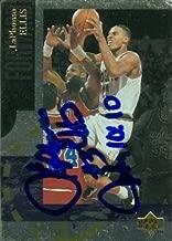 Autograph Warehouse 52210 Laphonso Ellis Autographed Basketball Card Denver Nuggets 1994 Upper Deck No .Se23