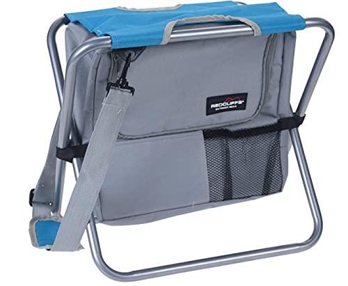 Redcliffs Sac de camping 45 cm polyester Gris/bleu