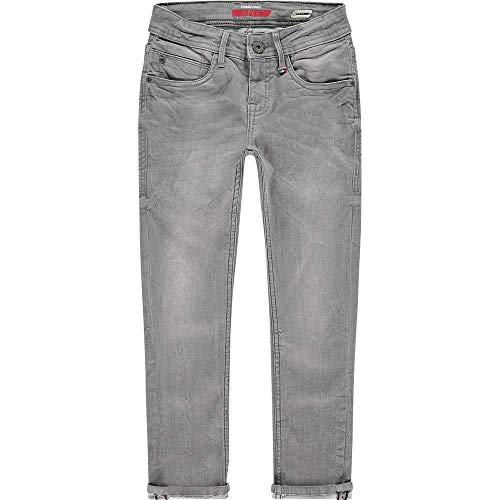 Vingino Jungen Jeans Hose Flex fit Skinny Apache Light Grey (164)