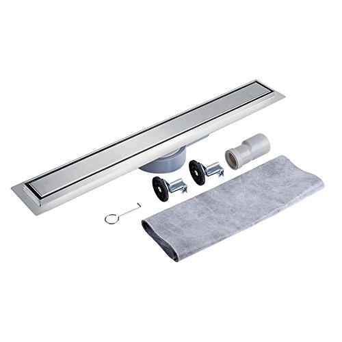360Grad Rotation Edelstahl Lineal Entwässerung des Dusche Boden für Fliesen Abfluss-Fußboden für Badezimmer und Küche