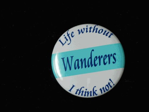 magnetsandhangers Wycombe Wanderers 50mm metal button badge