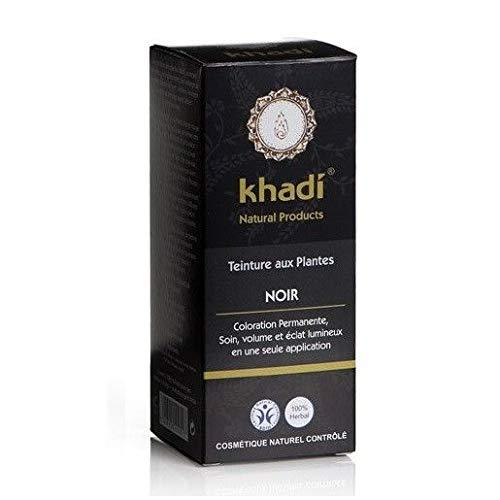 Khadi - Coloration végétale Noir 100G Bio - Livraison Gratuite Pour Les Commandes En France - Prix Par Unité