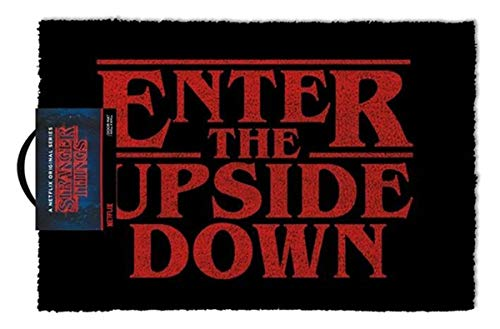 Stranger Things ZERBINO 40 x 60 cm – Enter the upside down