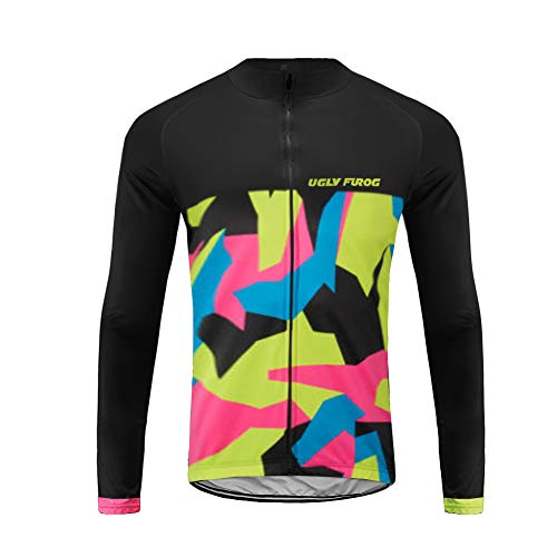 Future Sports UGLYFROG Maillot Ciclismo Hombre, Maillot Bici