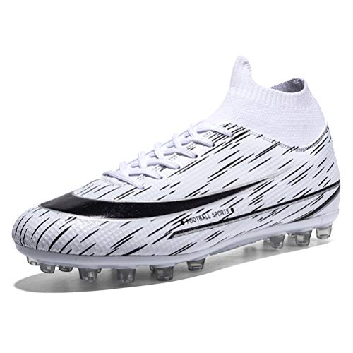 WILTENA Womens Indoor Football Boots Shoes Mens Sock Spikes...