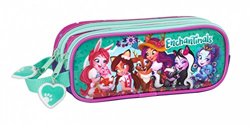 Safta Estuche Enchantimals Oficial Escolar 210x60x80mm