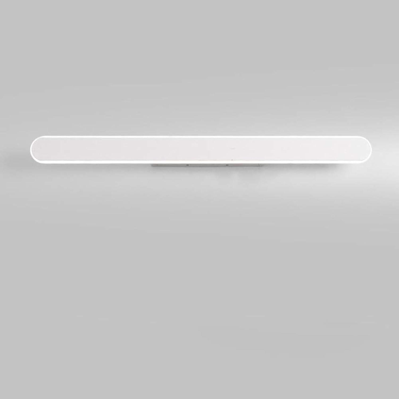Modern Lange schatten Wandleuchte, LED 60W Spiegellampe Aluminium Schminkleuchte Für Make-up-licht-Trichromes Dimmen 80cm(31.5in)