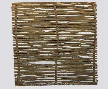 bambus-discount.com Haselnuss Zaun Laura mit 150 x 180cm - Sichtschutzzaun aus Hasel Nuss