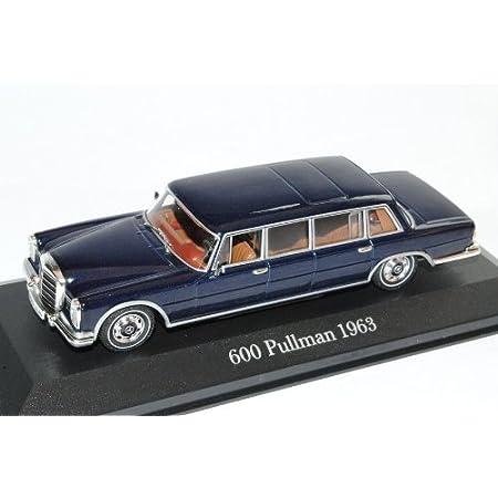Minichamps Mercedes Benz 600 Pullman W100 Dunkel Blau Fast Schwarz 1964 1981 1 43 Ixo Modell Auto Spielzeug