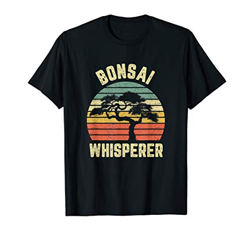Bonsai Shirt Funny Japanese Bonsai Tree Whisperer Gift Shirt T-Shirt