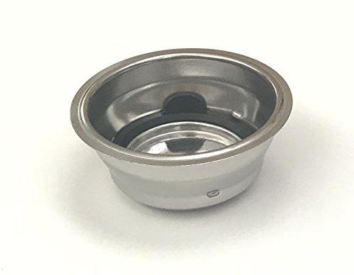 Delonghi Filter Assembly 2 Cup For Delonghi EC680R, ECP3220, EC680BK