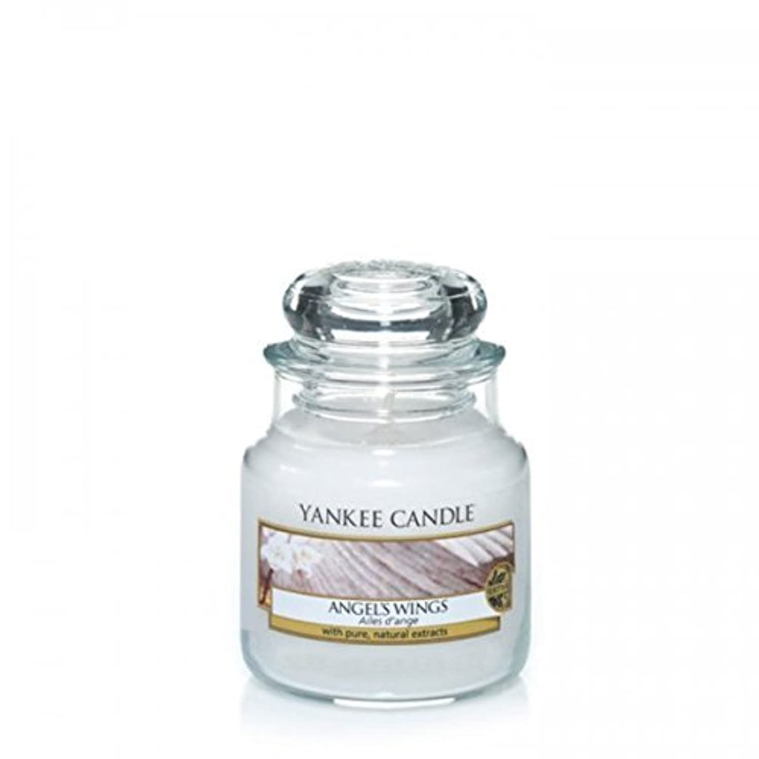 あえてエンジニア豚Yankee Candle Angels Wings Jar 3.7Oz by Yankee Candle [並行輸入品]