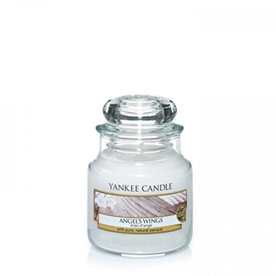 真鍮適切に上にYankee Candle Angels Wings Jar 3.7Oz by Yankee Candle [並行輸入品]