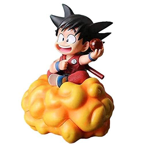 Modelo de Personaje Nuevo Dragon Ball Son Goku Infancia con la Nube Figura de acción Juguete Figuras de Anime de Dibujos Animados Modelo Decoraciones de Coche Modelo Regalo de marioneta