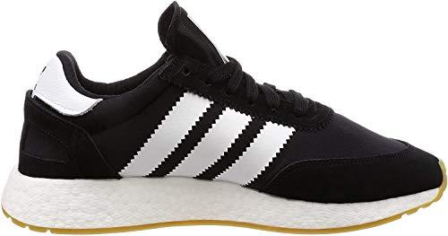 adidas Herren I-5923 Gymnastikschuhe, Schwarz (Core Black/Footwear White/Gum 0), 36 2/3 EU