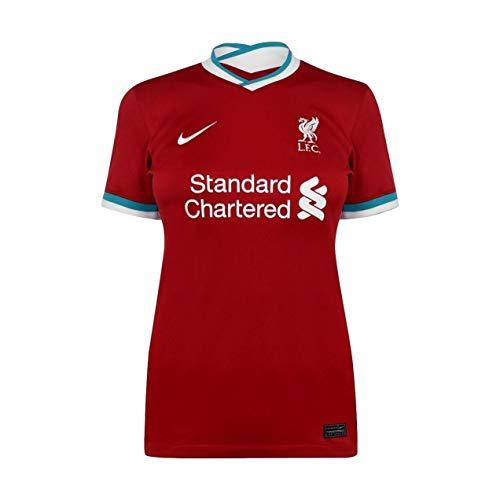 Liverpool FC Home Women's Stadium Soccer Jersey- 2020/21 (WXL) Red